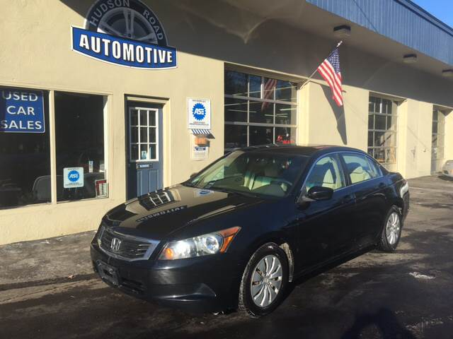 2008 Honda Accord for sale at HUDSON ROAD AUTOMOTIVE in Stow MA