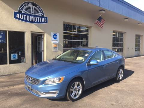 2015 Volvo S60 for sale at HUDSON ROAD AUTOMOTIVE in Stow MA