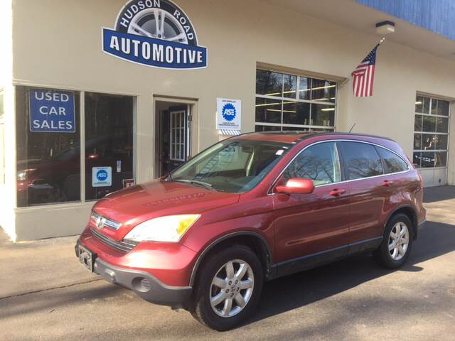 2008 Honda CR-V for sale at HUDSON ROAD AUTOMOTIVE in Stow MA