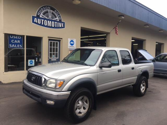 2004 Toyota Tacoma 4dr Double Cab V6 4WD SB In Stow MA - HUDSON ROAD ...