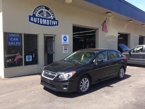 2013 Subaru Impreza for sale at HUDSON ROAD AUTOMOTIVE in Stow MA