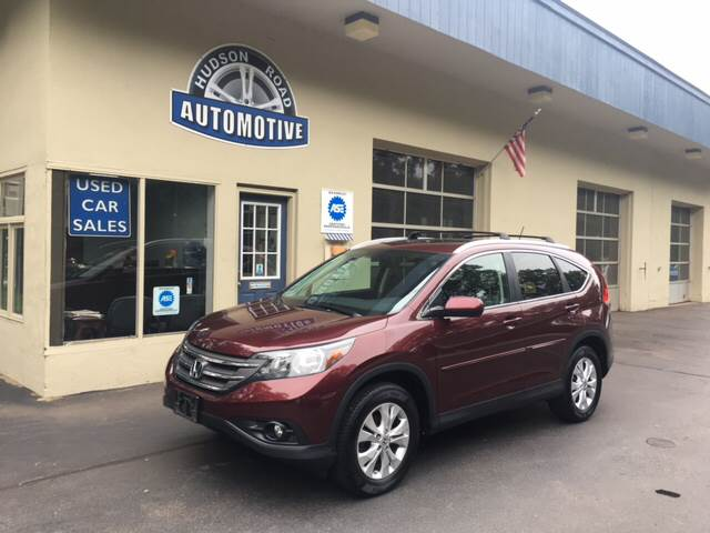 2013 Honda CR-V for sale at HUDSON ROAD AUTOMOTIVE in Stow MA