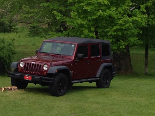 2008 Jeep Wrangler Unlimited 4x4 X 4dr SUV - Barre VT