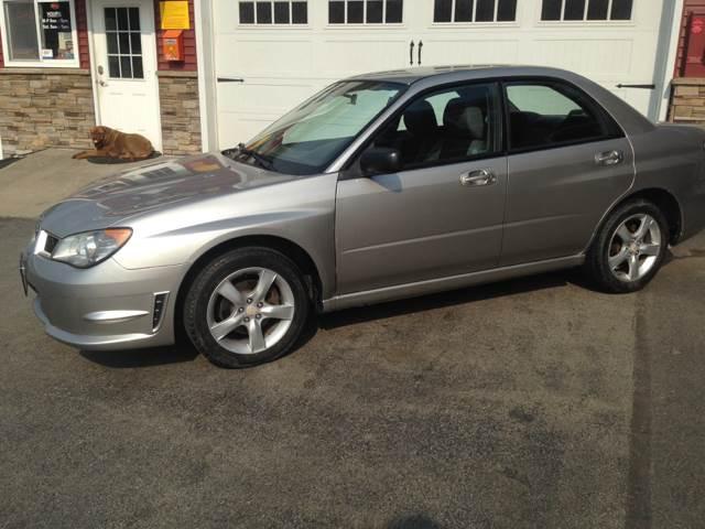 2006 Subaru Impreza AWD 2.5 i 4dr Sedan w/Automatic - Barre VT