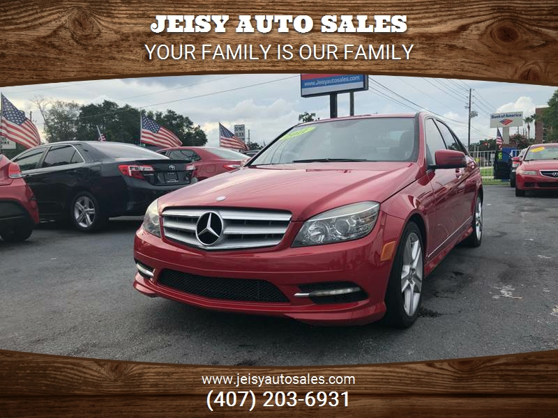 Lovely 2011 Mercedes Benz C Class C 300 Sport 4dr Sedan   Orlando FL
