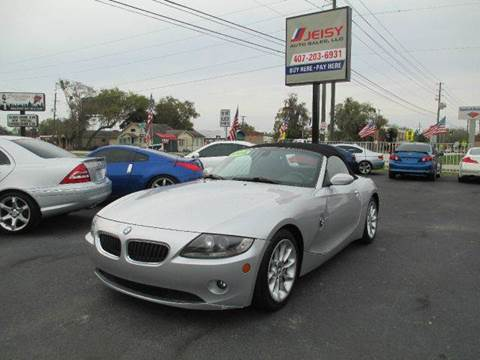 2005 BMW Z4 for sale at JEISY AUTO SALES in Orlando FL