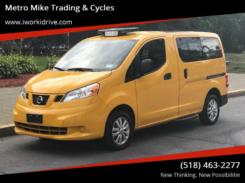 2014 Nissan Nv200 Taxi 4dr Mini Van In Albany Ny Metro Mike