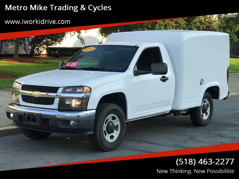 2012 Chevrolet Colorado 4x2 Work Truck 2dr Regular Cab Chassis   Albany NY