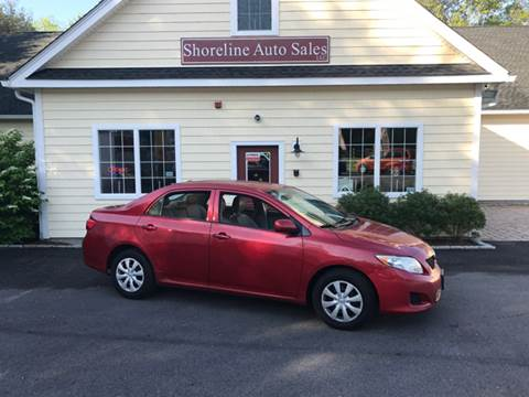 2010 Toyota Corolla for sale at Shoreline Auto Sales LLC in Richmond RI