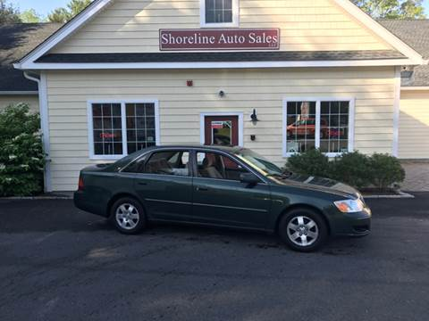 2000 Toyota Avalon for sale at Shoreline Auto Sales LLC in Richmond RI