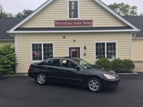 2007 Honda Accord for sale at Shoreline Auto Sales LLC in Richmond RI