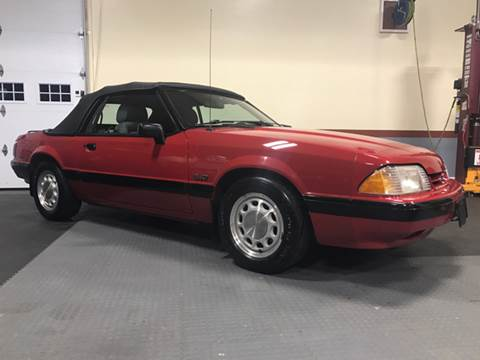 1989 Ford Mustang for sale at Shoreline Auto Sales LLC in Richmond RI