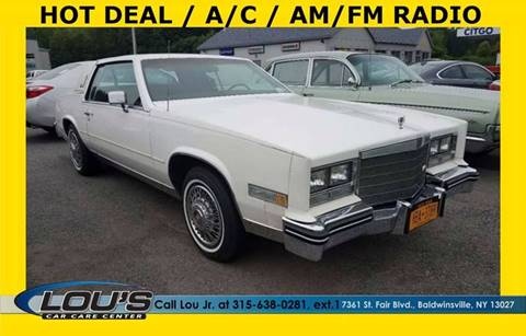1985 Cadillac Eldorado for sale in Baldwinsville, NY