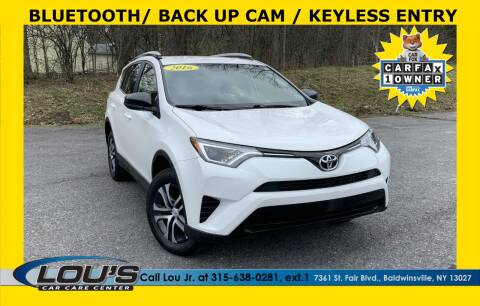 2016 Toyota RAV4 for sale at LOU'S CAR CARE CENTER in Baldwinsville NY