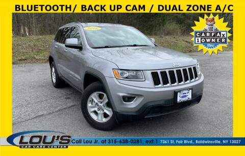 2016 Jeep Grand Cherokee for sale at LOU'S CAR CARE CENTER in Baldwinsville NY