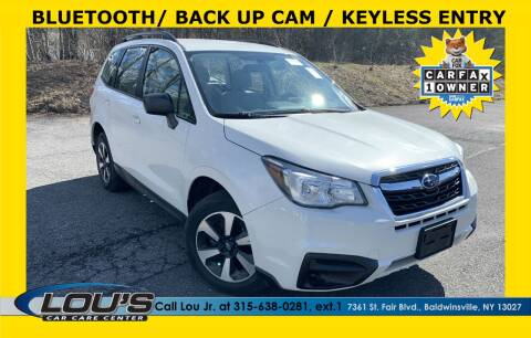 2017 Subaru Forester for sale at LOU'S CAR CARE CENTER in Baldwinsville NY