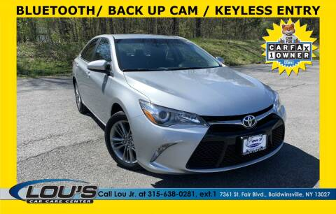 2017 Toyota Camry for sale at LOU'S CAR CARE CENTER in Baldwinsville NY
