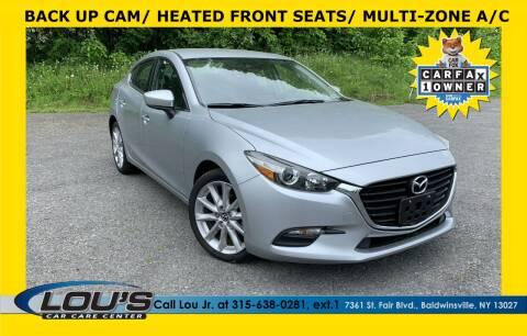 2017 Mazda MAZDA3 for sale at LOU'S CAR CARE CENTER in Baldwinsville NY