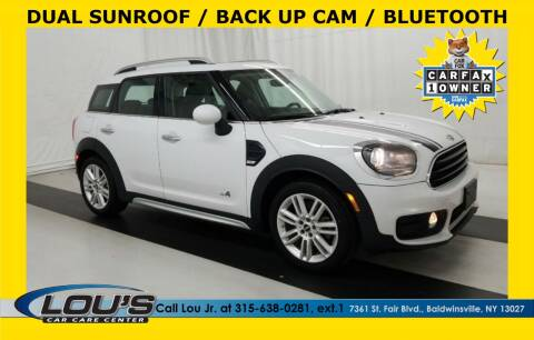 2017 MINI Countryman for sale at LOU'S CAR CARE CENTER in Baldwinsville NY
