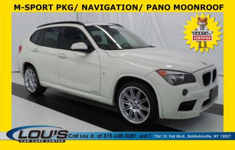 2014 BMW X1 for sale at LOU'S CAR CARE CENTER in Baldwinsville NY