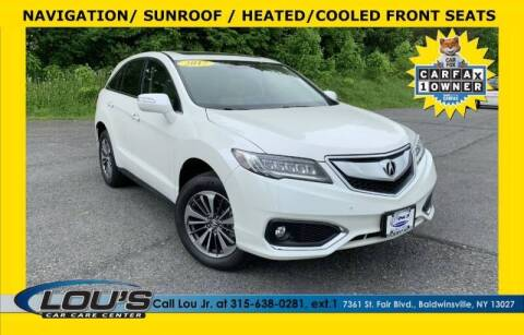 2017 Acura RDX for sale at LOU'S CAR CARE CENTER in Baldwinsville NY