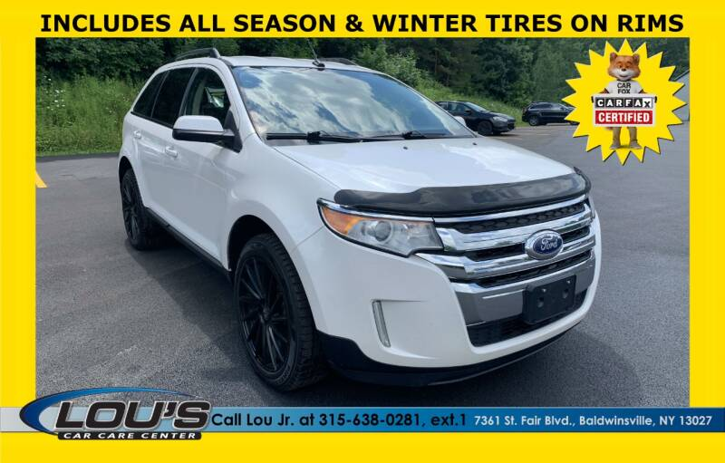 2013 Ford Edge for sale at LOU'S CAR CARE CENTER in Baldwinsville NY