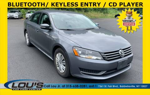 2014 Volkswagen Passat for sale at LOU'S CAR CARE CENTER in Baldwinsville NY