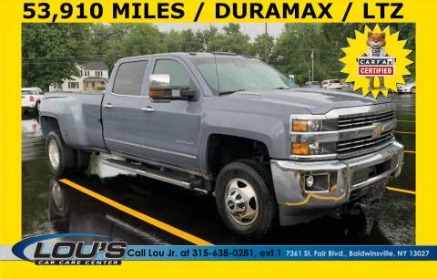 2016 Chevrolet Silverado 3500HD for sale at LOU'S CAR CARE CENTER in Baldwinsville NY