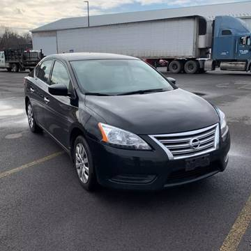 2015 Nissan Sentra S for sale at American & Import Automotive in Cheektowaga NY