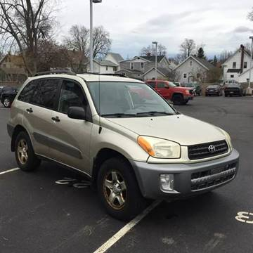 2003 Toyota RAV4 for sale at American & Import Automotive in Cheektowaga NY
