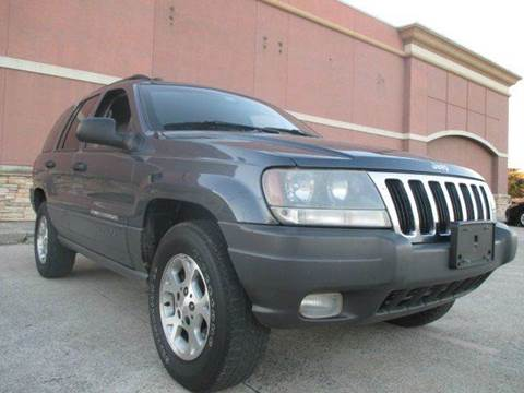 2002 Jeep Grand Cherokee for sale in Houston, TX