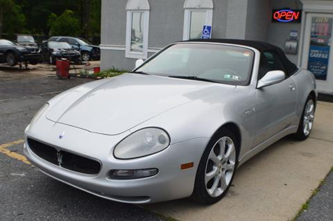 2003 Maserati Spyder for sale in Smyrna, DE