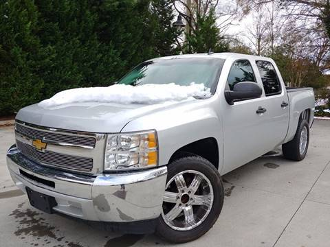2013 Chevrolet Silverado 1500 for sale at Garcia Trucks Auto Sales Inc. in Austell GA