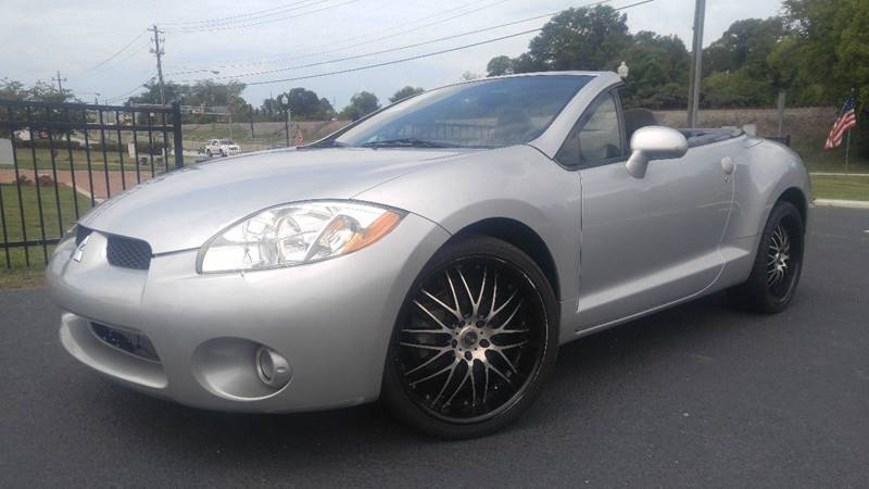 2008 Mitsubishi Eclipse Spyder for sale at Garcia Trucks Auto Sales Inc. in Austell GA