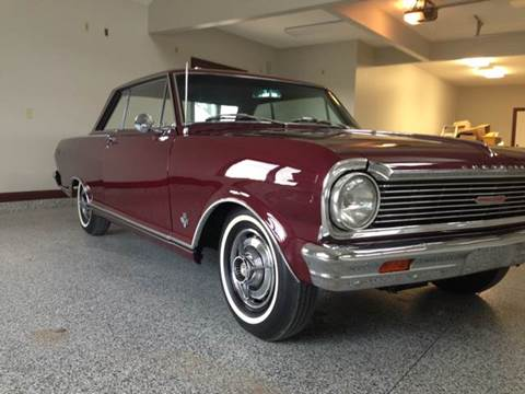 1965 Chevrolet Nova for sale at Drummond MotorSports LLC in Fort Wayne IN