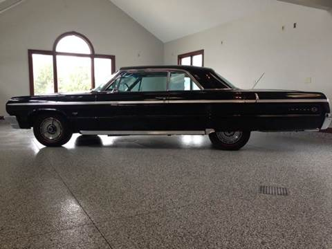 1964 Chevrolet Impala for sale at Drummond MotorSports LLC in Fort Wayne IN