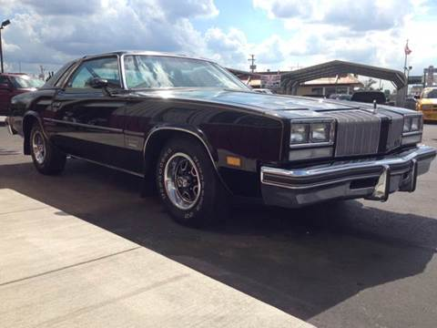 1977 Oldsmobile Cutlass Supreme for sale at Drummond MotorSports LLC in Fort Wayne IN