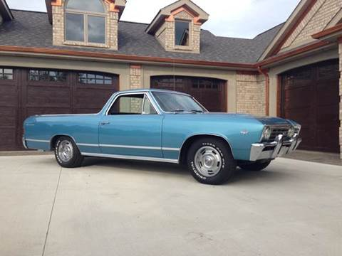 1967 Chevrolet El Camino for sale at Drummond MotorSports LLC in Fort Wayne IN