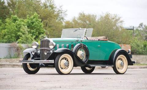 1932 Chevrolet Confederate BA DeLuxe Sports R