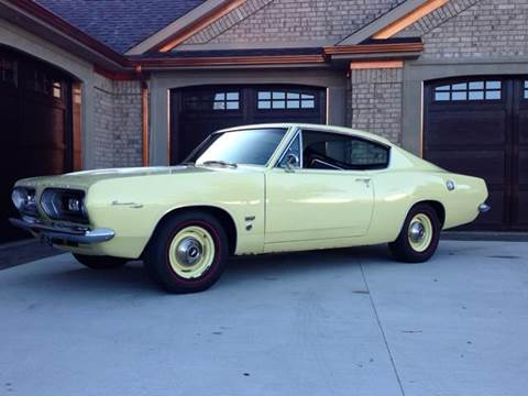 1967 Plymouth Barracuda for sale at Drummond MotorSports LLC in Fort Wayne IN