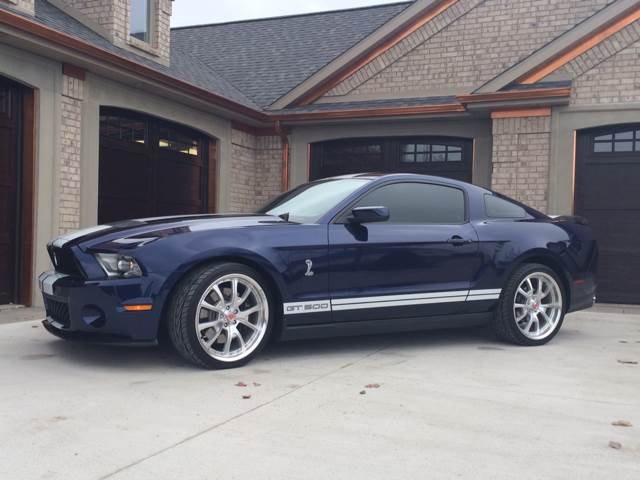 2011 Ford Shelby GT500 for sale at Drummond MotorSports LLC in Fort Wayne IN