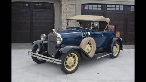 1930 Ford Model A for sale at Drummond MotorSports LLC in Fort Wayne IN