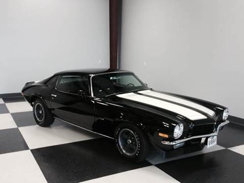 1972 Chevrolet Camaro for sale at Drummond MotorSports LLC in Fort Wayne IN