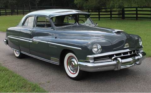 1951 Lincoln Sport Sedan for sale at Drummond MotorSports LLC in Fort Wayne IN