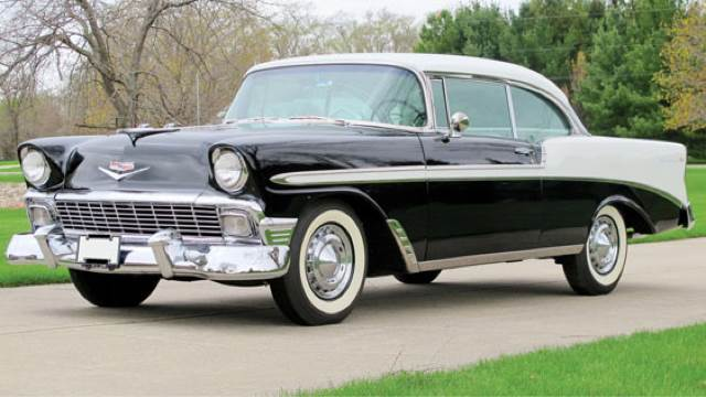 1956 Chevrolet Bel Air for sale at Drummond MotorSports LLC in Fort Wayne IN
