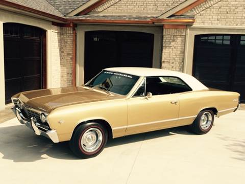 1967 Chevrolet Chevelle Malibu for sale at Drummond MotorSports LLC in Fort Wayne IN