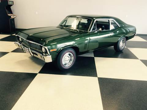 1970 Chevrolet Nova for sale at Drummond MotorSports LLC in Fort Wayne IN