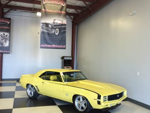 1969 Chevrolet Camaro for sale at Drummond MotorSports LLC in Fort Wayne IN