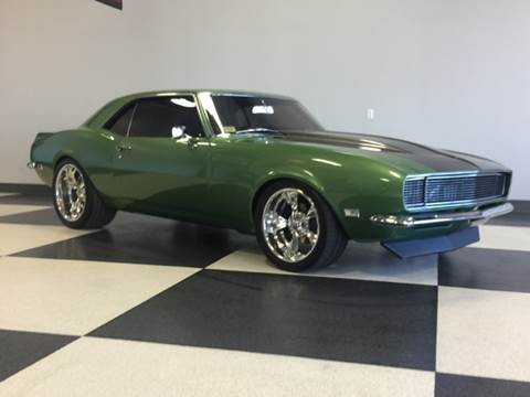 1968 Chevrolet Camaro for sale at Drummond MotorSports LLC in Fort Wayne IN