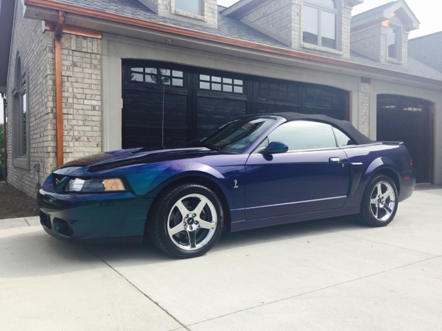 2004 Ford Mustang SVT Cobra for sale at Drummond MotorSports LLC in Fort Wayne IN